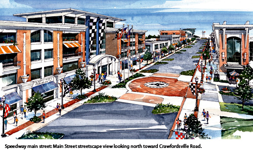 Speedway Redevelopment Drawing 3