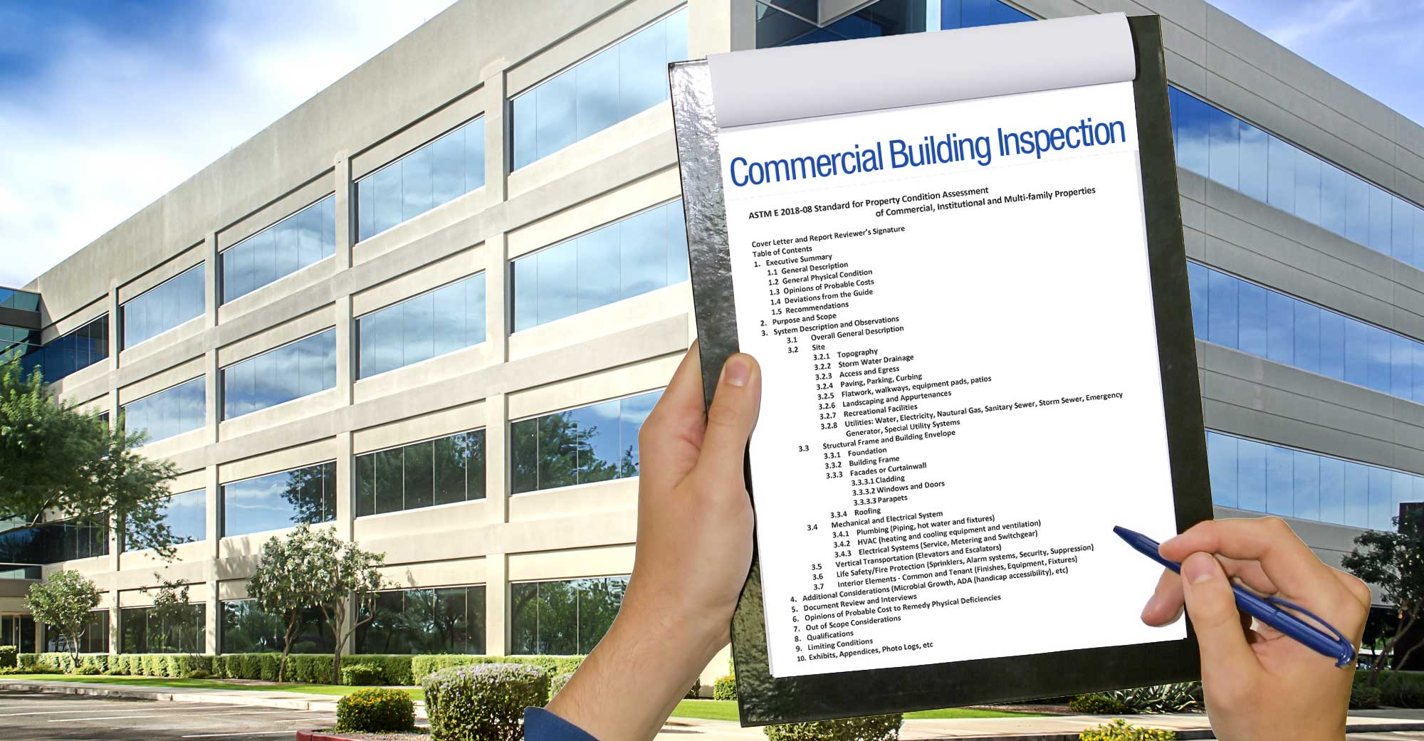 Commercial Business Inspection